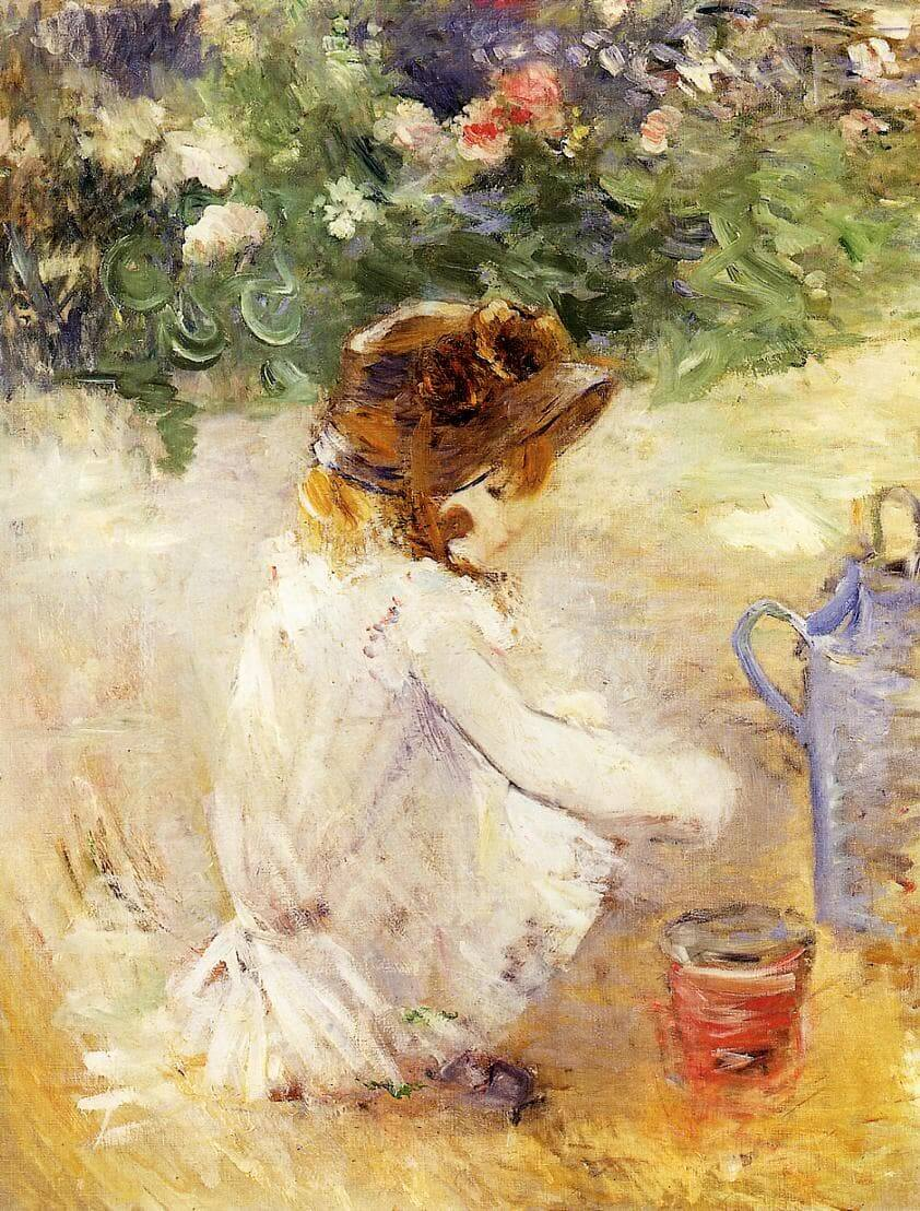 """Sandkuchen"" von Berthe Morisot"